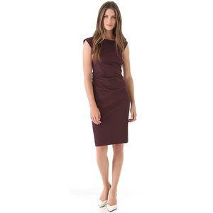 NWOT Diane Von Furstenberg Gabi Poplin Dress